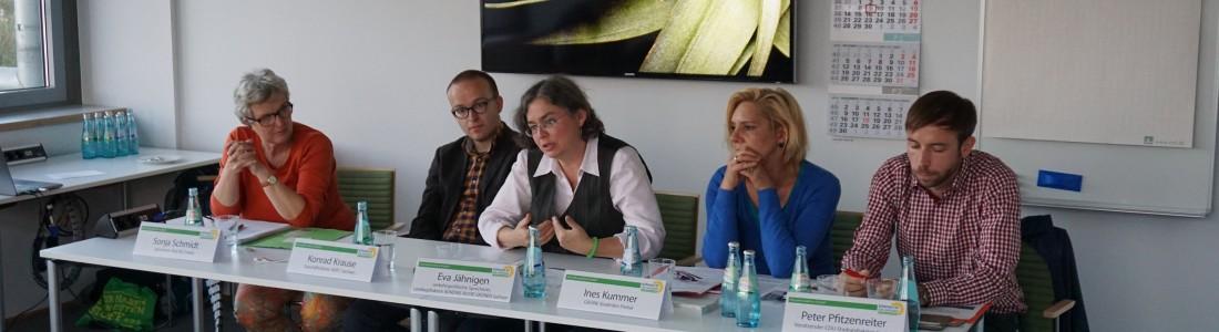Podiumsdiskussion Dresdner Straße 2015