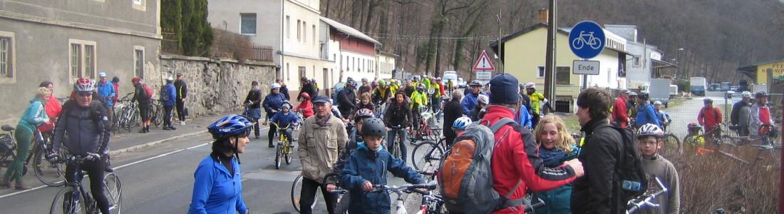Demo Radweg Tharandt 2013